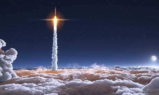 Rocket Launch 550x330